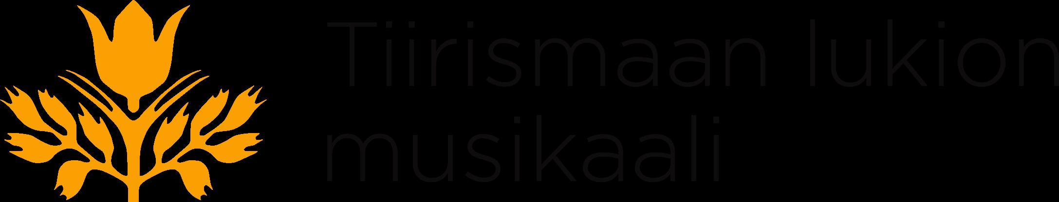 Tiirismaan lukion Musikaali Logo